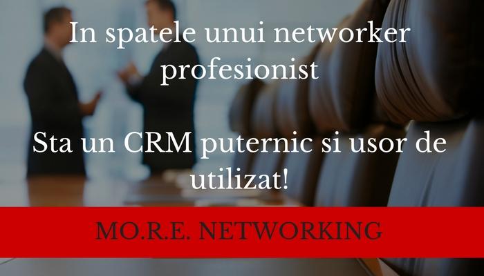 more networking workshop mini crm